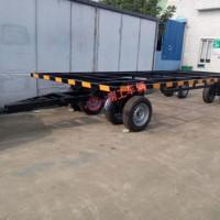 4吨骨架全挂式平板拖车