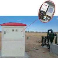 农业生产智能灌溉玻璃钢智能井房 机井灌溉控制系统