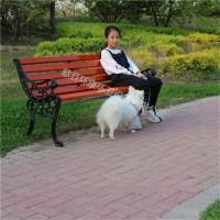 厂家定制 公园椅 实木座椅 户外铸铁排椅 批发