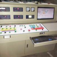 混凝土搅拌站电气集中控制系统操作台单机四秤
