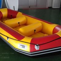 8人加长漂流艇,拉丝底漂流船,轻舟漂流艇