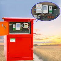 山东灌溉用射频控制器 水电双计控制柜