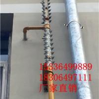 供应小区煤气管道防爬刺 各种型号管道防爬刺 厂家制作