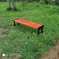 瑞达户外排椅 实木平凳座椅 防蛀防潮加固耐用