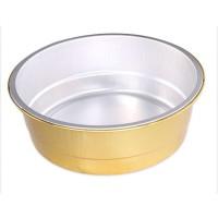 厂家直销1370ml铝箔餐盒食品包装盒额外卖打包盒