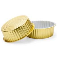 厂家直销2500ml铝箔餐盒食品包装盒额外卖打包盒