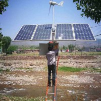 广东佛山晶天太阳能电池组件200W瓦风光互补监控太阳能板