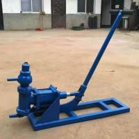 BG-10手摇式注浆泵使用说明