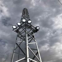 河北天缘厂家供应照明塔21.5米升降式投光灯塔