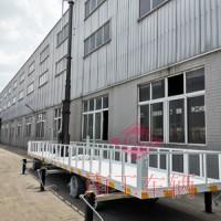7吨移动牵引平板工具拖车