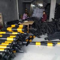 供应电杆拉线反光警示管 PVC电杆拉线警示套管厂家批发
