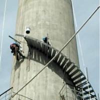 成都烟囱安装旋梯平台价格
