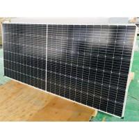 广东晶天太阳能板并网分布式80KW光伏电站400W半片光伏板