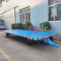 无动力牵引工具拖挂车5吨平板拖车