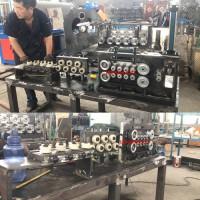 山东汽车车桥法兰弯曲成型焊接整平全套设备生产线