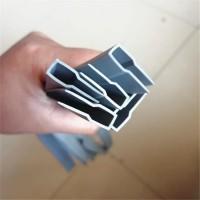 供应磁吸门帘用边条PVC门帘边条磁性门帘包边胶条