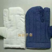 单指棉手套 二指隔热耐高温棉手套  烤炉焖子棉手套