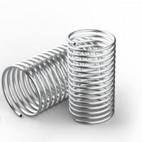 精密不锈钢管 不锈钢冷却盘管 罡正