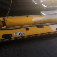 速海橡皮艇底部加厚款,3.6米冲锋舟拉丝底铝合金底