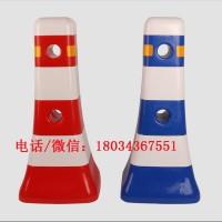 一体式隔离墩红白蓝白隔离墩注水三孔水马防撞桶塑料