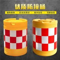 防撞设施 塑料防撞桶 隔离墩 塑料水马 防撞桶隔离墩