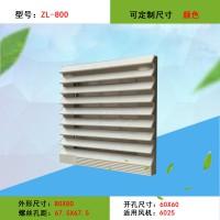 6025轴流风机防尘罩 机箱散热小百叶窗 过滤网组zl800