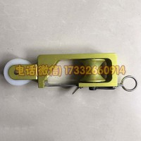 自锁除静电滑轮跟斗滑车铝合金架跟斗滑轮电力施工工具
