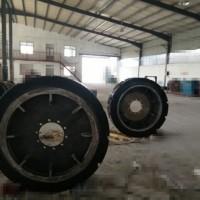 矿用聚氨酯填充轮 工程聚氨酯实心轮