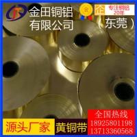 h96黄铜带,c2680环保耐腐蚀黄铜带/h65合金黄铜带
