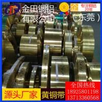洛阳h75黄铜带-h62高纯度电缆黄铜带,h60超宽黄铜带