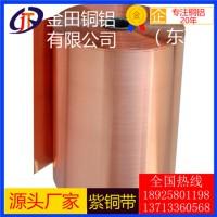 t1紫铜带,t6高纯度镀锌紫铜带/t2耐冲压紫铜带