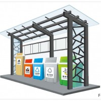垃圾亭投放站分类垃圾亭厂家供应生产加工