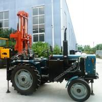 40马力气动打井机生产厂家车载气动拖拉机打井机
