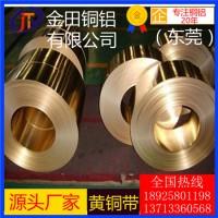 高精度h68黄铜带-h62大规格黄铜带,h60耐酸碱黄铜带