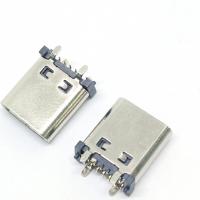 TYPE-C母座14P180度立式四脚插板