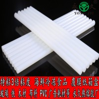 银川白色特高粘度热熔胶棒玻璃金属平面粘合专用三倍粘度热熔胶棒