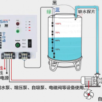 水塔水位继电器水位控制器全自动水位控制器原理