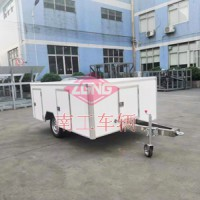 机器人用0.3吨轻型ATV厢式平板拖车