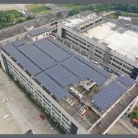 佛山晶天太阳能板 24V太阳能蓄电池板 370W屋顶光伏板