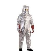 代尔塔402101防金属喷溅连体隔热服套装