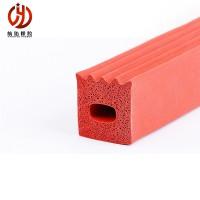 航佑定做 硅胶方条 硅橡胶条 硅胶实心条 耐高温密封条 厂家
