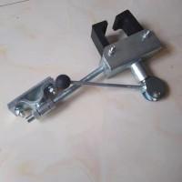 轨道卡轨器 梯车防倾器 防倾斜  梯车抓轨器