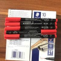 德国施德楼菲林笔318F 记号笔 投影笔 光盘笔