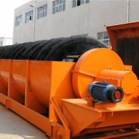 螺旋式洗砂机厂家 河南螺旋式洗砂机多少钱 环保型双螺旋洗砂机