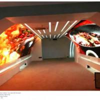 LED异形屏,公司专业定制各种形状led异形屏