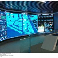 LED监控屏,室内LED监控电子屏,监控室LED屏定做