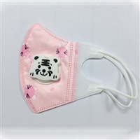 福建儿童立体带阀口罩,颜色图案众多防尘,防花粉,防寒保暖
