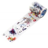 来图定制梦境漂亮仙女人物款手帐胶带