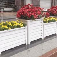 供应献县瑞达广场公园花箱护栏铝合金组合花槽