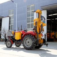 农用拖拉机式打井机 拖拉机气动打井机 拖拉机式水井钻机